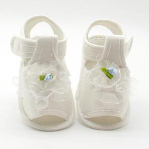 Enfants de fleurs sandales pour filles princesse chaussures d'été bébé enfants doux coton tissu sandale chaussures fille