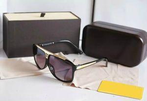 1 par de alta calidad nueva para mujer para mujer gafas de sol evidencias gafas de sol gafas gafas negras vienen con accesorios originales