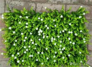 Fake Plant Wall Lawns Alfombra Decorar Artificial Flower Plantación verde Eucalyptus Greensward Garden Decor House Ornaments 12 5jy jj