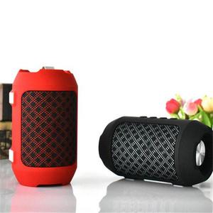 HIFI Bluetooth Speaker Portable Wireless Super Bass Speakers with Mic TF FM Radio Stereo Bluetooth Speaker DHL free shipping