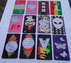 Дешевые V Синдикат большой размер кредитной карты травы Grinder табака из нержавеющей стали Grinder классический V 420 сердце и другие дизайн Grinder Card