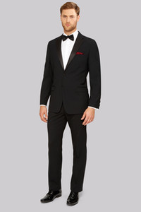 wedding suits fomal wear 2020 custom made suit slim fit black tuxedo men suitwool bleed
