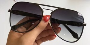 Luxo RC 1090 Óculos De Sol Para Homens Designer De Moda Estilo Retro Clássico Quadro Oval Proteção UV CR-39 Lens Full Frame Livre Vem Com o Caso