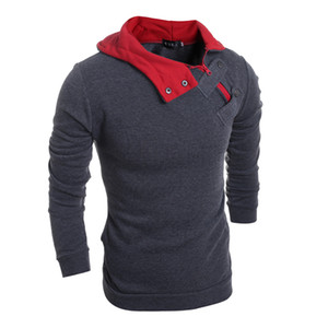 Brand Hoodie Soild Warmth New Stitching Hoodies Hombres Fashion Chándal Male Sweatshirt Hoody Mens Purpose Tour