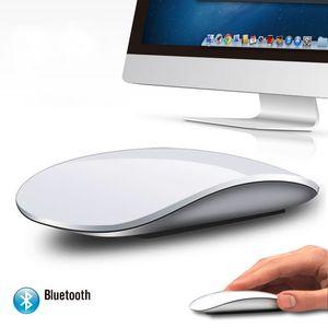 Apple Laptop Mac OS Windows için Bluetooth Optik Multi-Touch Fare Mini Slim Fareler