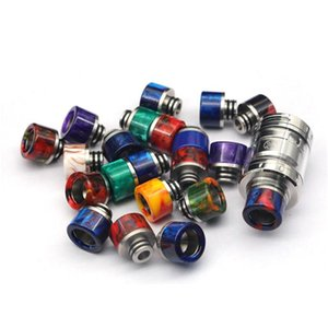 Epoxy Resin SS 510 Drip Tip Wide Bore Mouthpiece for 510 Thread Atomizers Smok TFV8 Baby Melo 3 Uwell Crown 1 2 3Tank