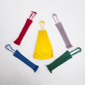 Style japonais S'il vous plaît Pleats Causal Tote Bag Canvas grande capacité ME Sac à bandoulière issey vertical plis miya Candy Color