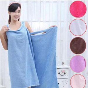 Magie Serviettes De Bain Lady Filles SPA Serviette De Douche Body Wrap Peignoir De Bain Peignoir Robe De Plage Wearable Magic Towel 9 couleur