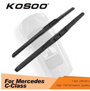 Mercedes Benz C-Class W203 W204 Için KOSOO W205 C200 C300 C180 Model Yıl 2000 Yılından 2017 Yılında Oto Araba Silecek Bıçakları
