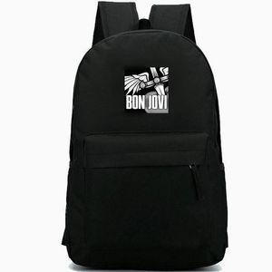 Bon Jovi backpack It is my life Always daypack Hard rock band schoolbag Music rucksack Sport school bag Outdoor day pack