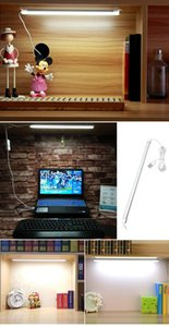 LED USB Book lights DC 5V 2835 SMD Portable 35cm Tube Rigid LED Strip lamp Hard Bar lights For Night Desk Reading lighting Bulb