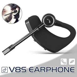 V8S Wireless Bluetooth Earphone Legend Stereo Earpieces CSR V4.0 Handsfree Earbuds Headsets With Mic Voice Control And Retail Package
