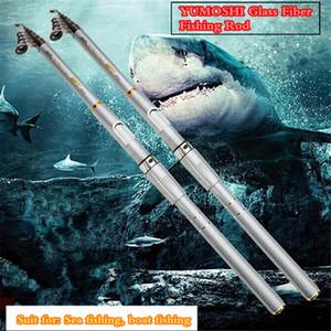 2018 venta caliente de calidad superior caña de pescar telescópica retráctil pesca caña de pescar cañas de agua salada de pesca spinning cañas de pescar
