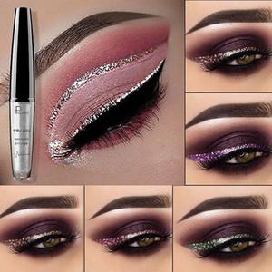 Yeni Makyaj Marka Pudaier Sıvı Eyeliner 16 Renkler Süper Glitter Eyeliner Pırıltılı Su Geçirmez Sparkle Sıvı Eyeliner DHL kargo