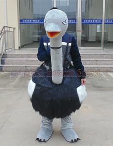 страус костюм талисмана Бесплатная доставка взрослый размер,страус талисман роскошные плюшевые игрушки карнавал партия празднует талисман завод продаж.