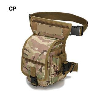 Borsa sportiva all'aperto tattico softair trekking camuffamento 1000D multi-funzione tattica cintura gamba borsa per campeggio di arrampicata campeggio