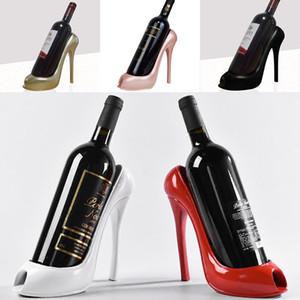 Высокие каблуки винные стойки силиконовые бутылки вина держатель стойки полки главная партия ресторан гостиная обеденный стол украшения 5 Цвет WX9-246