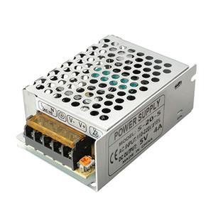 Transformador de la fuente de alimentación del interruptor del conductor de la iluminación de la CA 110-220V a DC 5V 4A 20W LED para la luz de tira del LED