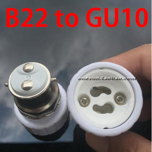 B22 E14 para GU10 / E14 para G9 G5.3 MR16 / B22 a E14 / E27 - Suporte B15 B22 E40 Lamp Converter Big Screw Boca