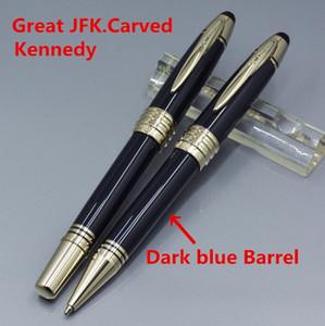 Heißer Verkauf - großer John Kennedy viele Art RollerBall Stift Kugelschreiber Füllfederhalter Monte JFK Mark Clip Schule Büromaterial mit Nunber