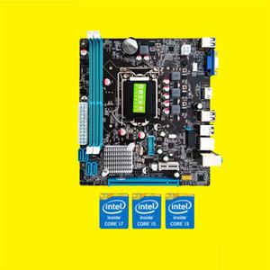 1155 Pin CPU Yüksek Kaliteli KUPASı Arayüzü USB3.0 Masaüstü Bilgisayar Anakart Anakart Destek DDR3 H61 Değiştirin