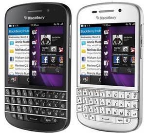 """Telefono originale sbloccato Blackberry Q10 3.1 """"Dual Core 8MP 2GBRAM 16GB ROM 3G 4G GPS WIFI QWERTY telefono rinnovato"""