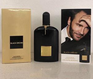 Calidad superior! Nuevo 100 ML Black Orchid Perfume con aroma de perfume floral Eau De Parfum para hombres con un tiempo de larga duración