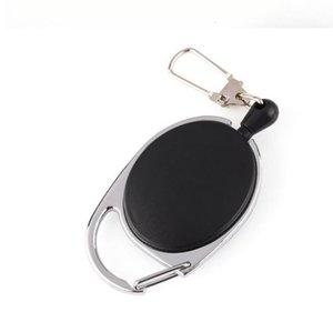 DHL Geri Çekilebilir Çekme Anahtarlık Zinciri yaratıcı İpi anahtarlık Tutucu Çelik tel halat toka anahtarlık çanta araba aksesuarları Parti Favor nt