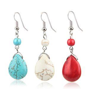 Vintage Ladies Women Boho Bohemian Oval Drop Bead Fashion Gold Statement Earrings Jewelry Gift New Delicate dropship