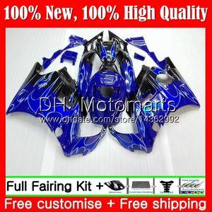 هيئة لهوندا CBR 600F2 FS Blue Flames CBR600 F2 91 92 93 94 AAMT6 CBR600FS 91 CBR 600 F2 CBR600F2 1991 1992 1993 1994