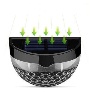 Solar Luz Ao Ar Livre Iluminação 6 Luz de Segurança LEVOU Luzes Trimestres de Bola À Prova D 'Água para a Lâmpada de Parede Do Jardim Cerca Stence Deck Path
