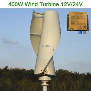 جديد وصول ماجليف مولد توربينات الرياح 400 واط 12v24v48v المحور الرأسي مولد الرياح مع 12 فولت 24 فولت تحكم mppt