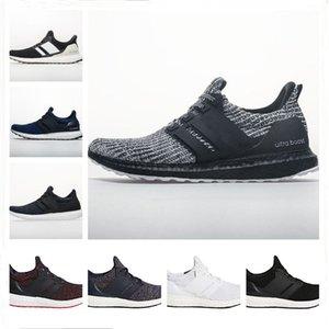 Boost 4.0 Zapatos Ultra Running Mostrar sus rayas Cáncer de Mama CNY Multi Color Negro Hombres Mujeres zapatillas de deporte Tamaño 36-48