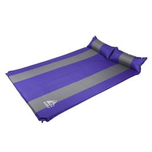 Hewolf Otomatik Şişme Hava Yatağı Minder Açık Yürüyüş Kamp Mat Kalınlaşma Kendini Şişirme Uyku Pedi + çanta