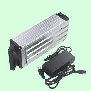 Ücretsiz nakliye Yüksek kaliteli 48v 20ah elektrikli bisiklet pil 750W / 1000W motor + 30A BMS + 2A Şarj için 18.650 piller