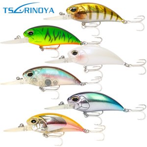 Tsurinoya Crank Hard Baits 60mm 16g Richiamo di carpe Wobblers Diving Dept 2.5-3.2m Artificiale Para Pesca Leurre Peche Fish Tackle Sinking VB