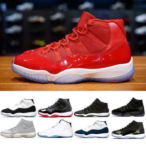 air jordan retro 11 Noite de Baile concord 45 raça homens basquete Sapatos mulheres GANHAR COMO 96 82 Cap and Gown calçados gamma azul calçados esportivos