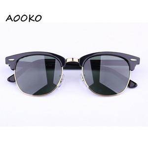 Heiße quadratische Sonnenbrille Club Tortoise schwarzen Rahmen UV400 Schutz verbietet Sonnenstrahlen 51mm grün G-15 NY Marke Designer Polar Spiegel polarisierte Linse