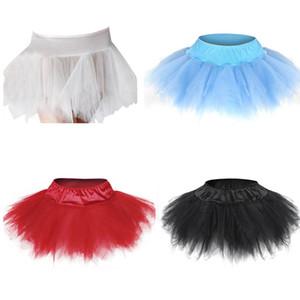 MeshLace 장식 멀티 레이어 섹시 마이크로 미니 투투 스커트 Faldas Saia Cortas showgirl dance skirt S-6XL