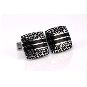 WN r men's laser engraving of classical style of shirt cuff links cufflinks jewelry high quality