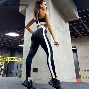 Shellsuning Iki Parçalı Set Kadın Yaz Seksi Kırpma Üst ve Tayt Set Casual Slim Fit Joggers Kıyafetler Sporting Set Yeni Eşofman
