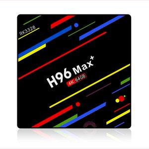 Оригинальный Н96был максимум плюс Android-ТВ коробка 9.0 4 ГБ 32 ГБ RK3328 4К 2.4 г 5г беспроводной доступ в интернет ВТ4.0 Медиа-Плеер