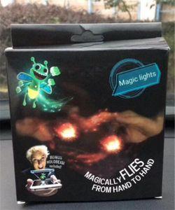 새로운 도착 미니 손가락 마술 꿀벌 마술로 날아간다 밝은 bugz 셀룰라 전화 손가락 장난감 마술 빛을위한 마술 불빛