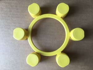 NEW Mikipulley Elastomer Coupling absorbed Yellow Shaft Couplings Jaw Spider 2018 CF-B-185 N=185mm Made in Japan