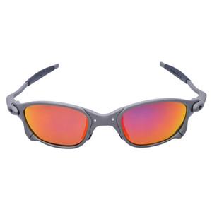MTB homens ciclismo óculos de sol óculos polarizados frame de liga ciclismo óculos 100% UV400 bicicleta óculos de pesca oculos ciclismo d4-7