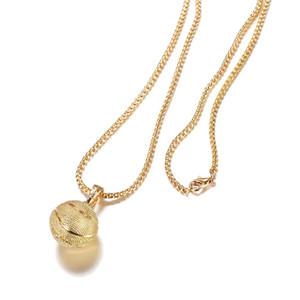 Мода творческий баскетбол футбол Футбол кулон ожерелье GoldSilver позолоченные спортивные ожерелья Для женщин мужчины s вентиляторы ювелирные изделия