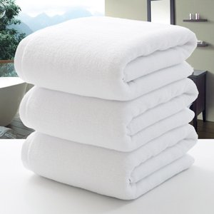 Al por mayor-nuevo 100 * 200cm hotel de algodón toalla de spa baño grande marca de toallas de playa para adultos salón de belleza textil hogar baño nadar junto al mar