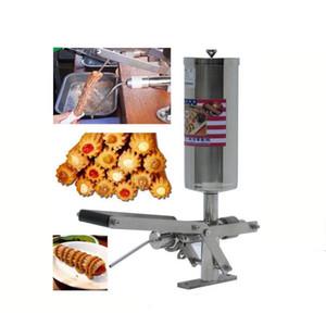Handelsübliche Edelstahl 5L churros jam Füllmaschine zum Verkauf / removable churros Füllmaschine / jam stuffing Füllmaschine