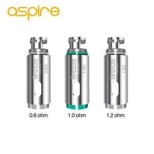 5 adet Aspire Esinti Atomizer Kafa 0.6ohm / 1.0ohm / 1.2ohm Aspire Esinti / Esinti 2 Kiti Elektronik Sigara Bobinleri Yüksek Kalite
