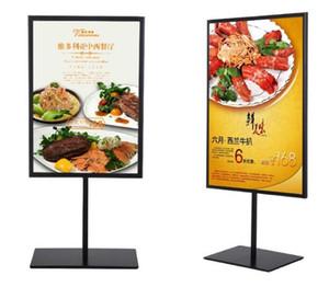 Çift taraflı posteri standı A3A4 metal cafe masa burcu reklam promosyon masası ekran standı raf ücretsiz kargo